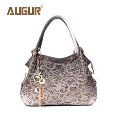 AUGUR Brand New Fashion Hollow Out Retro Carved Handbag Luxury Handbags Women Bags Designer Crossbody Bags For Women BG5016