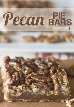 Rich and flavorful pecan pie bars with a shortbread crust and pecan pie filling. Bake this for an ultimate Thanksgiving dessert recipe.