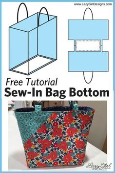 I don't know about you, but I love sewing for Easter. Here's not one bunny sewing pattern, but 20 free sewing patterns Sewing Hacks, Sewing Tutorials, Sewing Crafts, Sewing Tips, Sewing Basics, Sewing Ideas, Bag Tutorials, Fabric Bags, Fabric Scraps