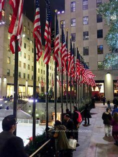 Night view of New York City from Rockefeller Center   #SharontheMoments #GrahamFamRec