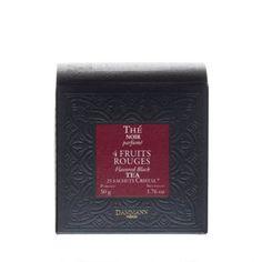 Thé des Mille Collines', box of 25 Cristal® sachets Photo Fruit, Thé Oolong, Jasmine Green Tea, Organic Green Tea, Hibiscus Tea, Wild Strawberries, Peppermint Tea, Chamomile Tea, Red Fruit
