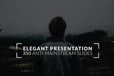 Elegant Powerpoint Template by binangkit on @creativemarket