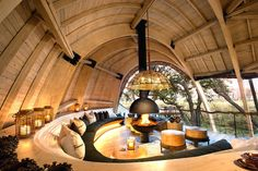Solar-powered safari lodge offers sustainable luxury digs in Botswana | Inhabitat - Sustainable Design Innovation, Eco Architecture, Green Building