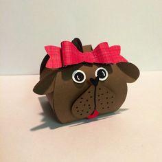 DOG with Curvy Keepsake Box