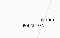 Identity design for Bouguessa; a line of luxury abayas that embody the classic and the contemporary, redefining the rules of abaya fashion while preserving its integrity.
