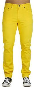 Blu Mens Slim Fit Jeans 20 Colors Soft Stretch Skinny Yellow x These skinny fit jeans are perfect for your everyday use. These jeans are comfortable to King Koopa Costume, Bowser Costume, Mario Costume, Skinny Fit, Skinny Jeans, Men's Jeans, Slim Fit Mens Jeans, Mens Leather Pants, Yellow Jeans