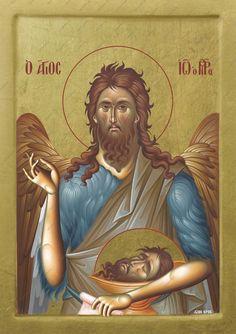 Linden Wood, Byzantine Icons, Custom Icons, Orthodox Christianity, Saint John, All Icon, Orthodox Icons, Special Person, Saints
