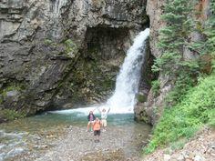 Whitmore Falls along the Alpine Loop - Lake city Colorado