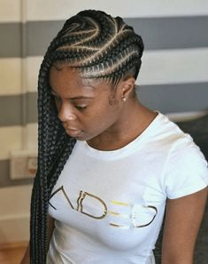 85 Box Braids Hairstyles for Black Women - Hairstyles Trends Box Braids Hairstyles, Lemonade Braids Hairstyles, African Hairstyles, Teenage Hairstyles, Layered Hairstyles, Hairstyles 2016, Hairstyle Ideas, African American Braided Hairstyles, Braided Hairstyles For Black Women Cornrows