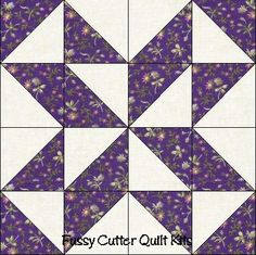 Scrappy Grab Bag Fabric Star Puzzle Easy To Make Pre-Cut Quilt Blocks Top Kit
