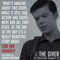 """... at the end of the day it's a really beautiful story about love and humanity."""