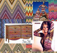 Steven Shell Taking Cues from Missoni -