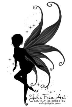 Indigo Fairy Tattoo cute basic design but I would want to modify it.