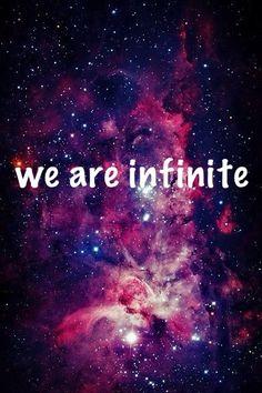 Noi siamo infinito.