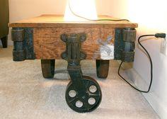 Antique Furniture Factory Cart