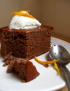 Mummy, I can cook!: Flourless Chocolate Orange and Ginger Cake