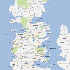 """27 Maps That Will Change How You Think About """"Game Of Thrones"""""""