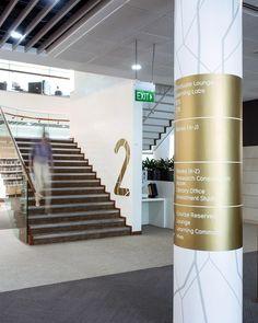 Singapore management University, Wayfinding, Singapore, placemaking, environmental branding, signage, University