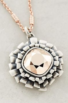 at anthropologie Izar Necklace - copper