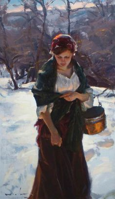 Winter - Mike Malm-Winter Sunlight-2010-sold
