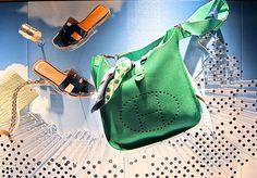 The Bag Hag Diaries, Hermes green bag