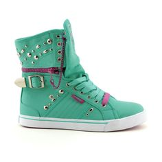 Womens Pastry Sugar Rush Athletic Shoe, Aqua/Fuchsia, at Journeys Shoes Hip Hop Sneakers, High Top Wedge Sneakers, Shoes Sneakers, Dream Shoes, Crazy Shoes, Me Too Shoes, Pastry Shoes, Pastry Sneakers, Fly Shoes