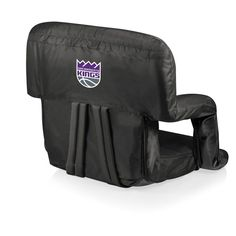 Picnic Time NBA Ventura Portable Reclining Stadium Seat Black - 618-00-179-264-4