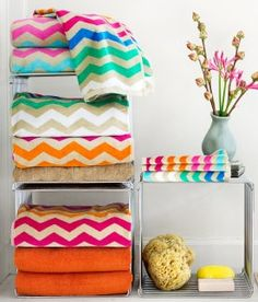 Gorgeous bright colored throws van I love pretty things: http://iloveprettypinkthings.tumblr.com/post/18712800240