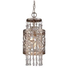 View the Minka Lavery 4841-276 1 Light Indoor Mini Pendant from the Lucero Collection at LightingDirect.com.