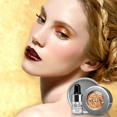 Get party-ready with a dose of festive glitter-spiked shadow. Gorgeous! #Sephora #Stila #Eyes