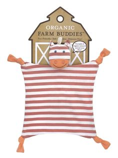 Organic Farm Buddies - Cuddle Cloth 100% Organic Poncho Pony - PetitePeople