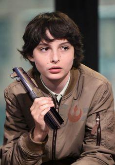 Imagine Finn Wolfhard as young Ben Solo.