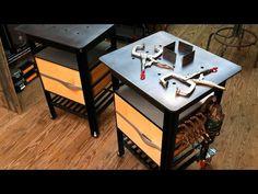 Design Rhyme   Mobile Welding Table   VÄLDBENSH - YouTube