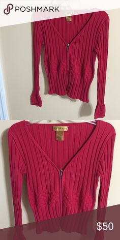 Sweater lovely red sweater Essendi Sweaters V-Necks