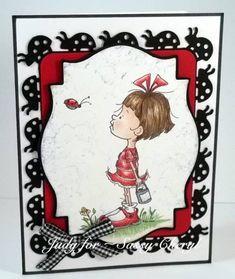 Sassy Cheryl- sally and her ladybug