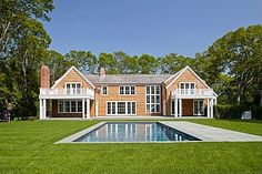 Molly Sim's home in the Hamptons