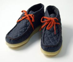 [Wu-Tang Clan & Clark Wallabees] Dope (very nice) pair of Clark Wallabees! More than likely, Wu approved.
