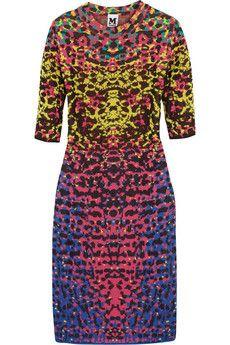 Wish it had a longer hemline - perfect. M Missoni Jacquard-knit dress | NET-A-PORTER