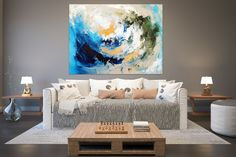 Large Abstract Painting,texture painting,colorful abstract,large acrylic canvas,acrylic textured art FY0066