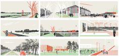 La Théorie de l'évolution, projet lauréat à Moulins, Europan 13