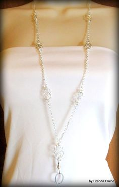 Fashion Necklace Lanyard ID Badge Necklace with Handcrafted