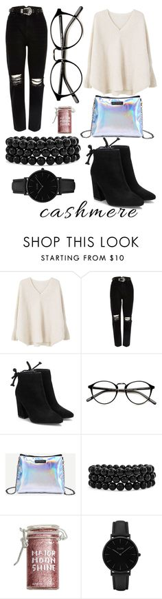 """""""Untitled #103"""" by sole-9948 ❤ liked on Polyvore featuring MANGO, River Island, Bling Jewelry, Major Moonshine and CLUSE"""