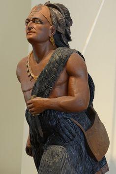 Indian Chief Figurehead   by Massjayhawk - East India Marine Hall - Peabody Essex Museum - Salem, Massachusetts
