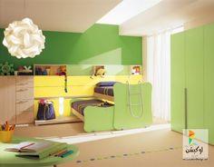 أرقى و أحدث غرف نوم أطفال فى العالم 2015 - لوكشين ديزين . نت