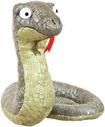 Die Grüffelo-Schlange aus Plüsch, ca. 17 cm hoch