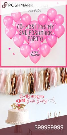 🎉PARTY ALERT!🎉 I am Co-Hosting my 2nd Posh Party 😁 It's been a  really long wait since I've been able to Host again  so I am going to be counting down the days LOL! 👯‍♀️  I will be selecting Host Picks from Posh Compliant  closets that have: •Fun, clear, & creative cover photo shots 📸 •New closets, older closets, people who participate  in Parties, and a few of my buyers between now & the party! 💕  Stop by & say hello for me to come check out your closet! It's never too early to search…