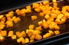 Roasted Butternut Squash with Maple-Sage Browned Butter
