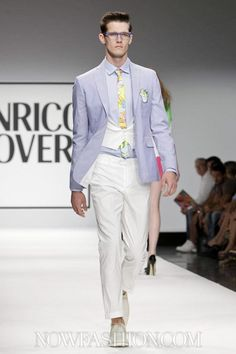 Enrico Coveri Menswear Spring Summer 2013 Milan