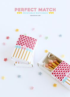 Perfect Match Printable Matchbox