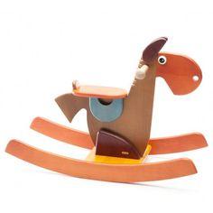 Houten schommelpaard   Speelgoed Kiki